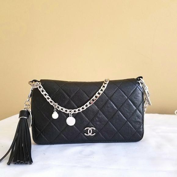 CHANEL Handbags - Chanel Matelasse Quilted Woc Crossbody